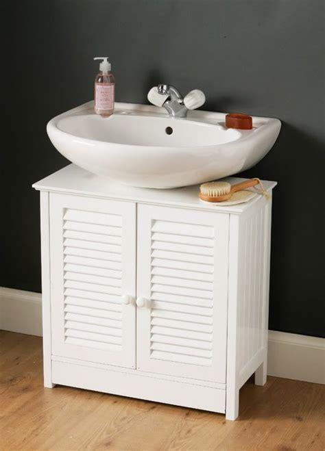 clever pedestal sink storage design ideas