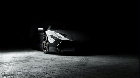 Car Wallpaper Black And White by Lamborghini Car Black Rims Wallpapers Hd Desktop And