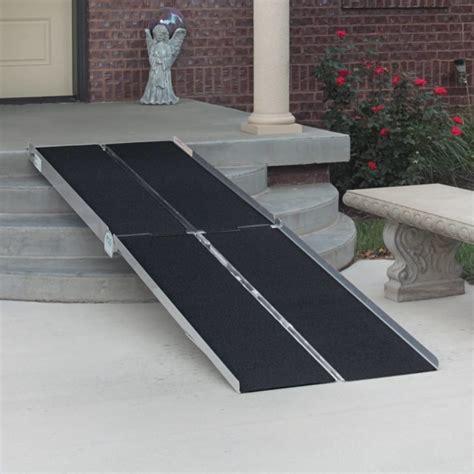 single  multifold portable wheelchair ramps american