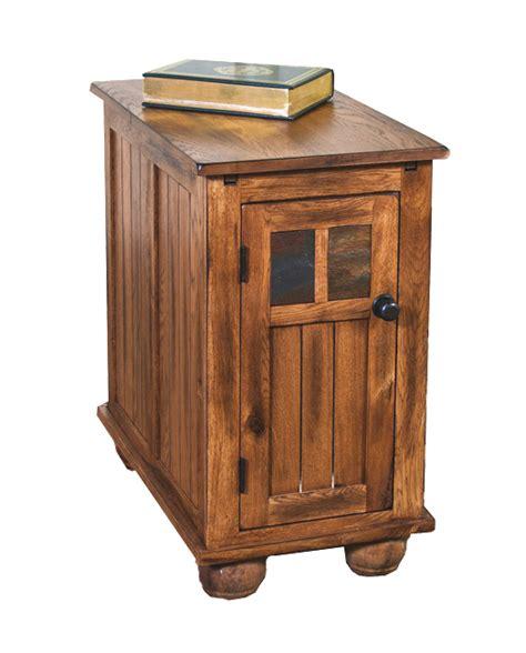 chair side tables oak rustic oak side end table oak chair side end table