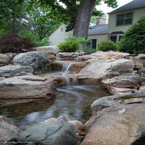 aquascape medium pondless waterfall kit  stream  pump