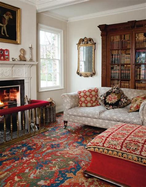 English Style Interior Design  Rigor And Comfort
