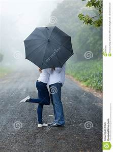 Young Couple Umbrella Stock Photo - Image: 50967681
