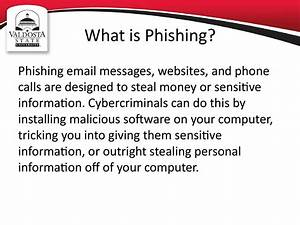 Personal Interests Examples Phishing Awareness презентация онлайн