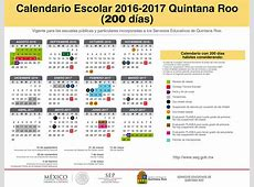Calendario Escolar Secretaría de Educación y Cultura