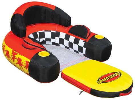 sportsstuff   siesta lounge inflatable water float