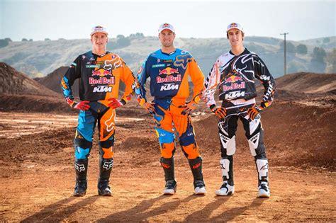 Red Bull Ktm 2013 Ama Supercross And Motocross Photo Shoot