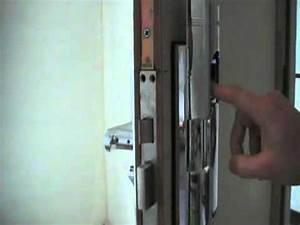 serrure biometrique 3 points de fermeture bt105 cremone With comment changer la serrure d une porte