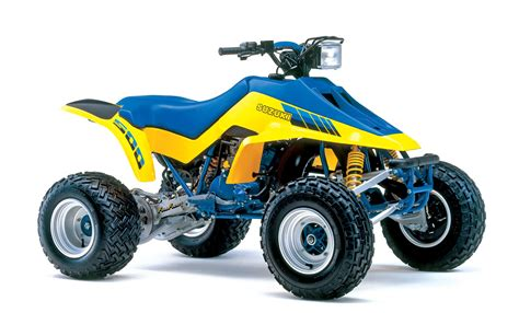 250 2 stroke motocross bikes for sale utv action magazine suzuki atvs that changed the world