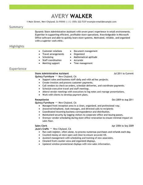 20728 exles of administrative assistant resumes best administrative assistant resume exle