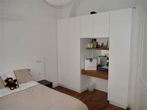 Penderie Sur Mesure : meuble penderie avec bureau int gr meubles sur mesure ~ Zukunftsfamilie.com Idées de Décoration
