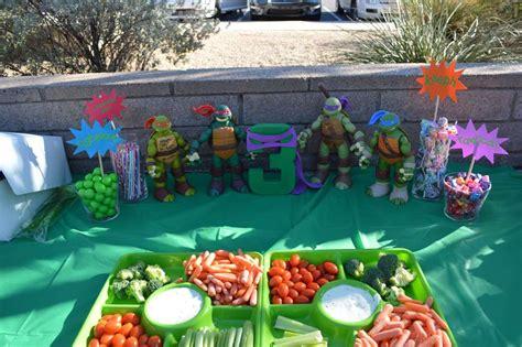 teenage mutant ninja turtles birthday party ideas photo    catch  party
