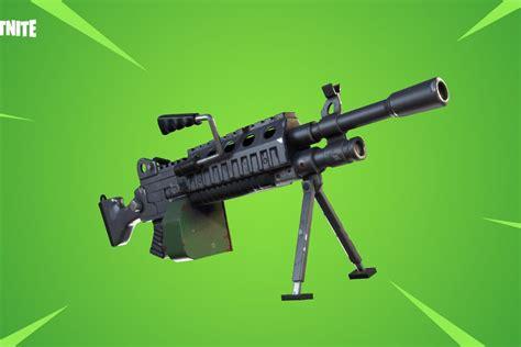 fortnite update adds lmgs  fixes dick bullets polygon
