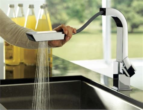 moen 90 degree faucet kitchen best sleek and contemporary faucets for a truly modern