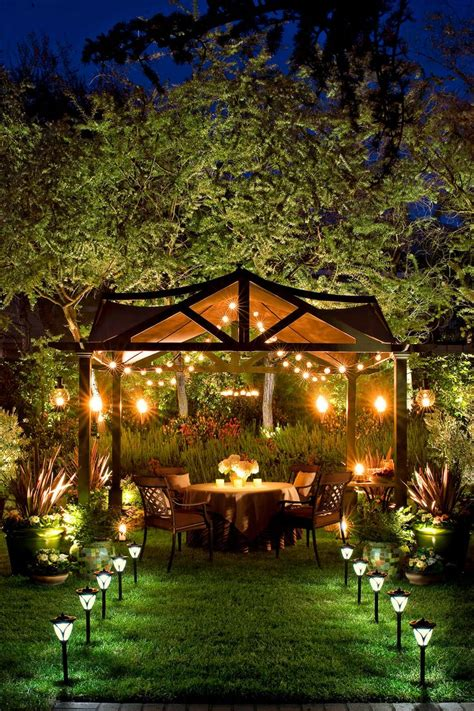 25 best ideas about backyard lighting on