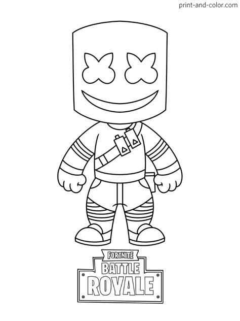 disegni da colorare fortnite skin season 8 fortnite coloring pages print and color