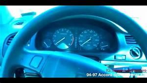 94-97 Honda Accord Gauge Cluster Removal    Repair