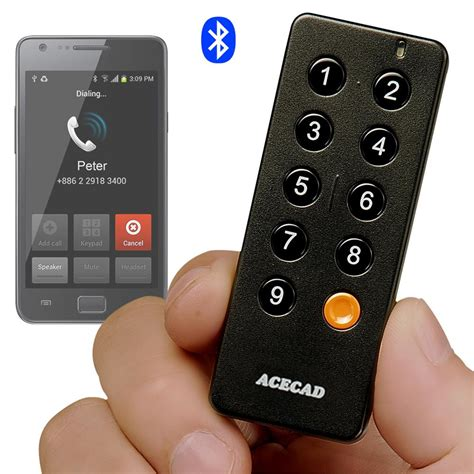 android bluetooth remote acecad acedialer sd1 bluetooth speed remote android