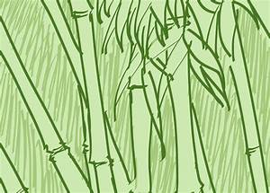 Art Wall Decor: Bamboo Tree Drawing | Bamboo Sticks ...