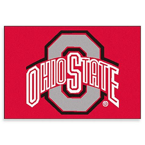 college doormats ohio state indoor floor door mat bed bath