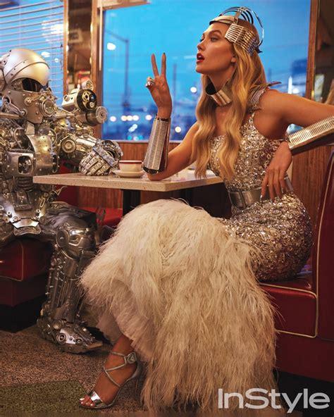Karlie Kloss Plays Glamorous Super Hero For Instyle Magazine