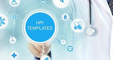 hpi template ehr charting templates and notes wrs health