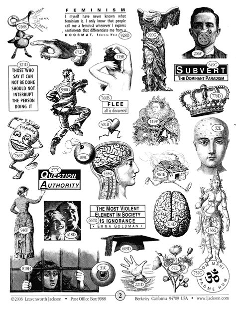 Leavenworth Jackson - very cool rubber stamps | Collage book, Black and white art drawing