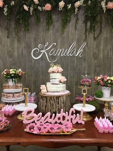 rustic baby shower decor wood background rustic decor baby
