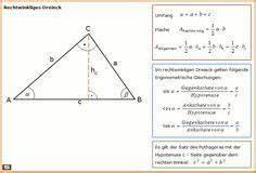 Wie Berechnet Man Die Höhe Eines Dreiecks : rechtwinkliges dreieck formel zu fl chenberechnung und trigonmetrische verh ltnisse dreieck ~ A.2002-acura-tl-radio.info Haus und Dekorationen
