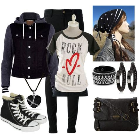 Rock n roll outfit | My Style | Pinterest