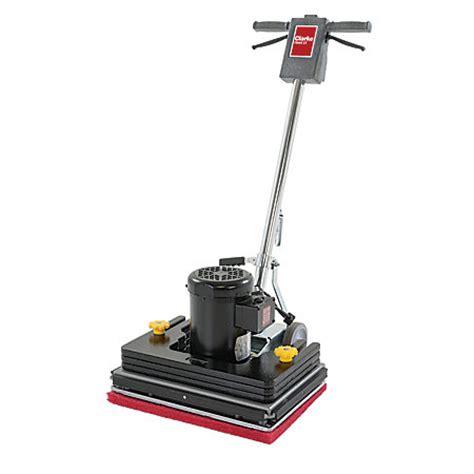Clarke Floor Buffer Pads by Clarke Fm40 St Orbital Floor Machine 1 5 Hp 17 By Office
