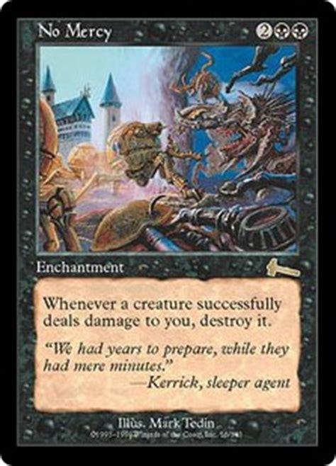 mtg enchantment deck legacy no mercy urza s legacy gatherer magic the gathering