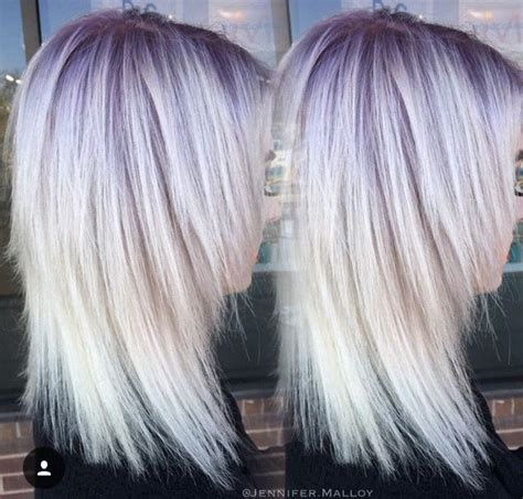 colored roots colored roots artyom ch triangular modern pixie haircut