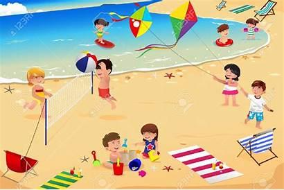 Strand Clipart Am Clipground Kinder Die