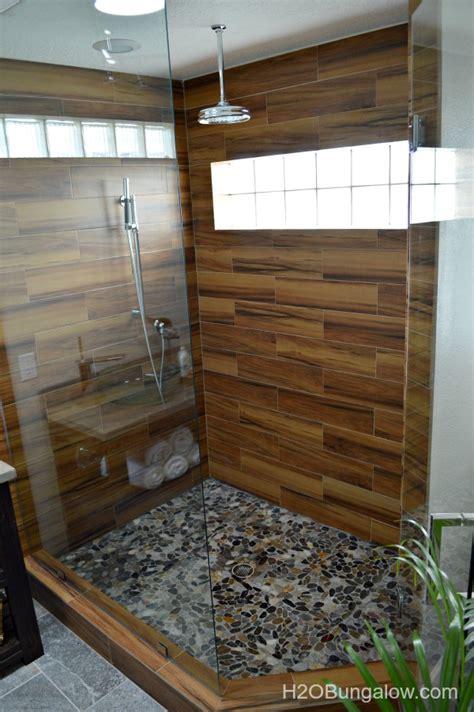contemporary small master bath renovation
