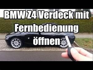 Bmw Abschleppöse Abdeckung öffnen : bmw z4 verdeck mit fernbedienung ffnen youtube ~ Jslefanu.com Haus und Dekorationen