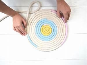 Tapis En Corde : diy fabriquez un tapis en corde graphique elle d coration ~ Teatrodelosmanantiales.com Idées de Décoration