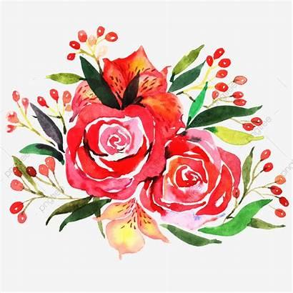 Watercolor Flowers Flower Illustration Clipart Plant Psd