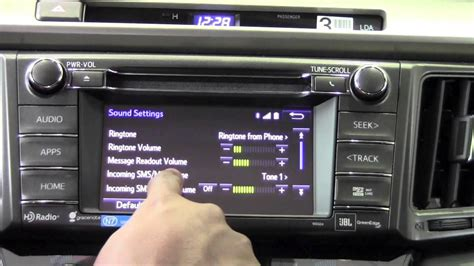 Brookdale Toyota by 2014 Toyota Rav4 Phone Sound Settings How To By Brookdale