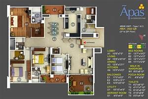 5 4 BHK High End Luxury Apartments Bannerghatta Road
