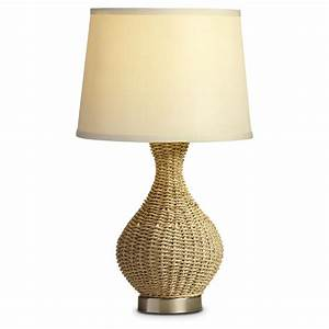 Rattan 20quot table lamp 281666 lighting at sportsman39s guide for Rattan table lamp 14 in