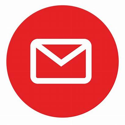 Email Icon Round Transparent Svg Outlined Vector