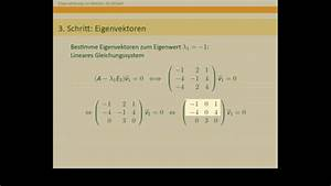 Eigenvektoren Berechnen Online : eigenwerte und eigenvektoren naturwissenschaften und ~ Themetempest.com Abrechnung