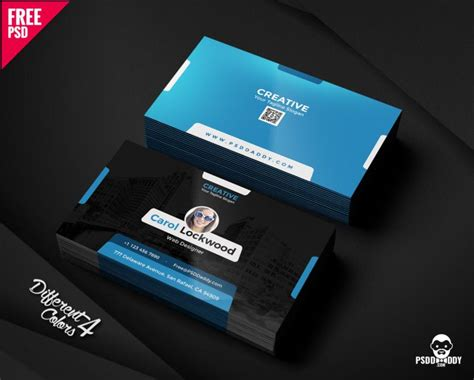 Creative Business Card Template Free Psd Bundle Business Letter Templates Word Template Requesting Information Rejection Logo Usb Sticks Document Sweatshirts Hats Images