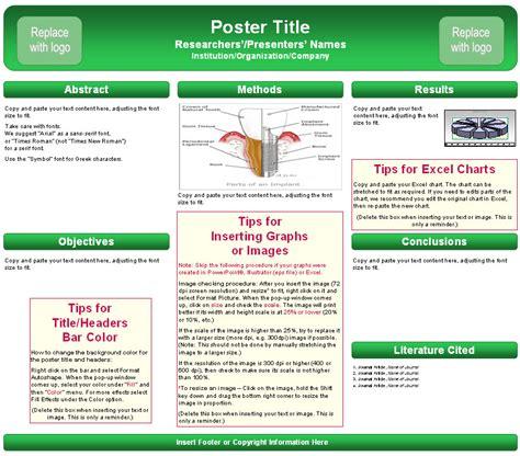 poster presentation template dissertation poster presentation