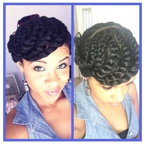 images of protective hairstyles for natural hair cute n