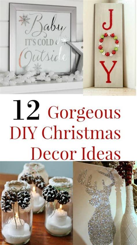 diy decorations 12 gorgeous diy decor ideas