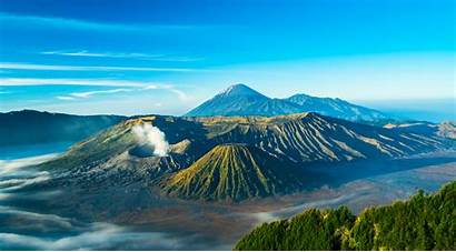 Bromo Indonesia Java Bali Mount Mt Terindah