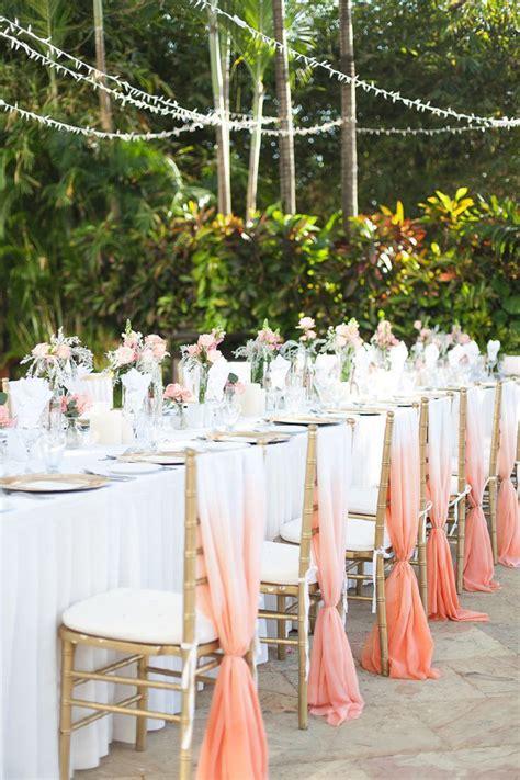 12 Beautifully Draped Fabric Wedding Chair Ideas Mon