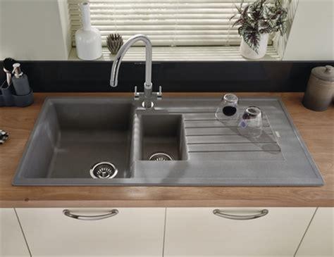 grey sink kitchen lamona grey granite composite 1 5 bowl sink 1508